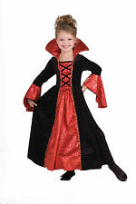Girls Deluxe Vampire Princess Costume Gothic Victorian Dress Size Small 4-6