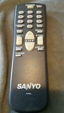 SANYO TV REMOTE FXML WORKS FOR FXTG FXTE FXVF FXMA FXME FXTB FXTK