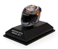 Minichamps 1/8  2011 Sebastian Vettel Monaco Helmet