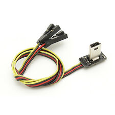 Super Slim Gopro Hero 3 & 4 Usb Av & Charge Cable Fpv Rc 2.4 G 5.8 ghz Tx Fatshark