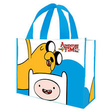New Adventure Time Large Shopping Eco Tote Bag Reusable Shopper Cartoon Network
