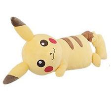 """Pokemon GO PIKACHU 11"""" Super DX Plush Doll Toy Plushie XY Pillow Sleeping NWT"""