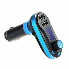 Double USB Car Charger MP3 Player FM Bluetooth Transmitter for Music Phones
