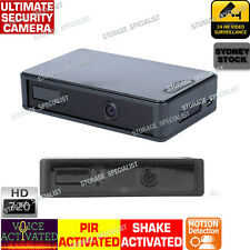 Security Parking Camera Surveillance Home Farm System Motion Voice Activated Spy