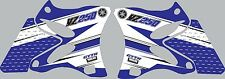 2002-2014 Yamaha YZ125 YZ 125 shrouds Graphics Decal Stickers