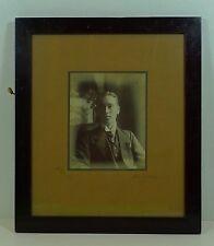 JUGENDSTIL RAHMEN BILDERRAHMEN LACK HOLZ  FOTOGRAFIE ANTIK UM 1910