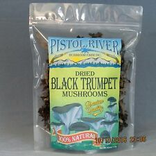 Black Trumpet Mushrooms-Dried First Quality 4oz FREE SHIPPING