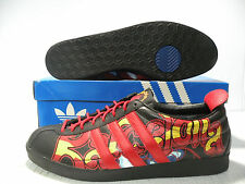 ADIDAS GAZELLE BARCELONA LOW VINTAGE MEN  SHOES RED 562381 SIZE 12 NEW