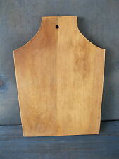 "Vintage Bread Board Primitive Country 11-1/2"" x 8"" Wood, Cutting Dough"