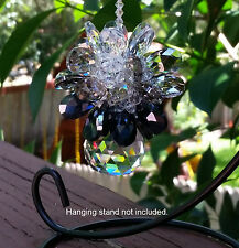 Crystal Hanging Feng Shui Prism Ball Cluster Rainbow Suncatcher Decoration