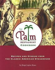 NEW THE PALM RESTAURANT COOKBOOK- THE CLASSIC AMERICAN STEAK HOUSE