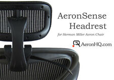 Headrest Genuinely Engineered for Herman Miller Aeron Chair + Free Coat Hanger