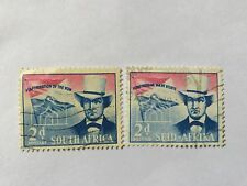 1955 South Africa Nice Stamps Set . SC 216. English and Africaans