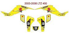 Suzuki LTZ 400 ATV Quad Graphic Kit  2003-2008