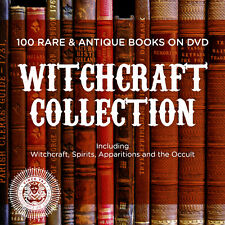 100 Rare Antique Books on DVD - Witchcraft Library - Witches, Spirits & Occult