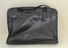 GORGEOUS VINTAGE SHINY LEATHER BLACK BOTTEGA VENETA PURSE SHOULDER BAG SS98