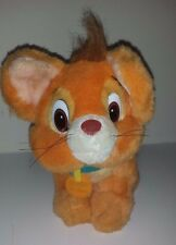 1988 Vintage OLIVER Cat Oliver & Company Movie 5th Avenue Sears Plush toy 10""