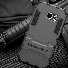 Samsung Galaxy S6 EDGE PLUS 2015 Phone Cover Case ARMOR KICK-STAND DOUBLE LAYERS
