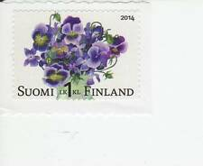 Finland 2014 MNH - Bounch of violas - Flowers - one stamp