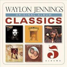 Waylon Jennings - Original Album Classics 5-CD Box Set 2013 *NEW & SEALED*
