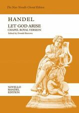 Handel Let God Arise Chapel Royal Vocal Choral Learn Sing Play Piano Music Book