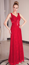Formal Long Party Evening Womens Cocktail Lace Knee Maxi Prom Dress UK 8 - 22