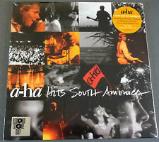"""RSD 2016 12"""" VINYL A-ha HITS SOUTH AMERICA Record Store Day LIVE BEST OF UNREL."""
