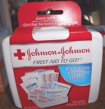 Johnson & Johnson Products Mini First Aid Kit 12 items 1 pack