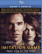 The Imitation Game (Blu-ray + Ultraviolet) New DVD! Ships Fast!