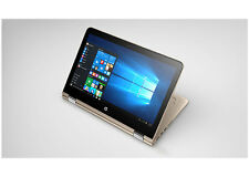 "HP x360 13t Gold  Laptop Touch 13 Convertible 13.3"" 1080P i5-7200u 12GB 500GB AC"