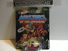 Hot Wheels He Man Masters of the Universe '29 Ford Pickup w/Real Riders