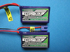 2 WALKERA RODEO 150 FPV RACE DRONE LIPO BATTERY 850mAh 2S 7.4V 25C 50C RC USA