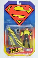 KENNER 1995 SUPERMAN MAN OF STEEL CONDUIT ACTION FIGURE W/ KRYPTONITE CABLES