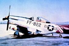 "U.S. Air Force American F-51D Mustang Fighter Plane 4""x 6"" Korean War Photo 19"