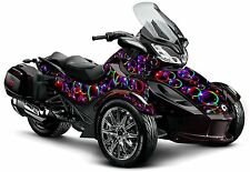 "Can Am Spyder ST ST-S graphic wrap decal body kit ""Bubble Wrap"""