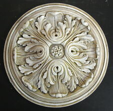 "13"" Round Ornate Medallion Wall Ceiling Home Decor Fancy Victorian Vintage"