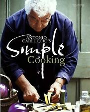 Antonio Carluccio's Simple Cooking Food & Coockery Recipes Hardcover New Book