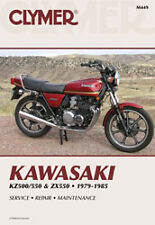 CLYMER REPAIR MANUAL M449 Fits: Kawasaki ZX550 GPZ,KZ550F LTD Shaft,KZ550A,KZ550