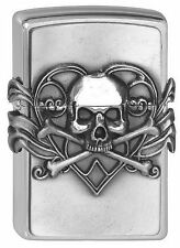 Zippo en TU MECHERO Skull with heart Anne Stokes Collection calavera corazón nuevo embalaje original