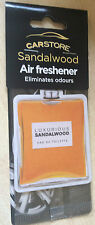 BNIP New Carstore Car Air Freshener - Sandalwood Fragrance