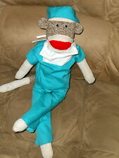 Sale Handmade Sock Monkey Classic Doll Surgeon Dr RN LPN Anesthesiologist