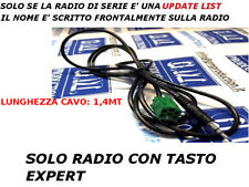 Cable Aux MP3 iPod RENAULT with Update List TWINGO CLIO MODUS MEGANE SCENIC