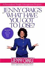 Jenny Craig's What Have You Got to Lose: A Personalized Weight Management Progra