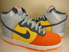 Nike Dunk High Team Orange Armory Slate Total Orange White SZ 9 (317982-800)