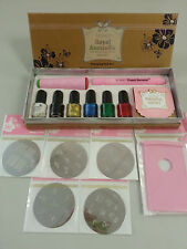SUPER SPECIAL-Konad Royal Gold Stamping Nail Art Kit with bonus 2 design plates