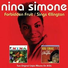 NINA SIMONE - FORBIDDEN FRUIT / SINGS ELLINGTON (NEW SEALED 2CD SET)