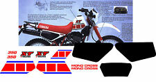YAMAHA XT350 XT 350 stickers decals aufkleber autocollant high quality