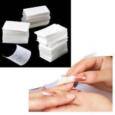 900x Lint Free Nails Art Manicure Polish Remover Cleaner Wipe Cotton Pads Paper