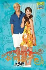 Teen Beach Movie Couple Everyone Justs Sings and Surfs Poster 22x34 T6013