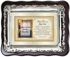 Picture frame retirement gift best wishes farewell retiring sayings poem plaque